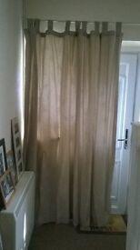 Large door curtain