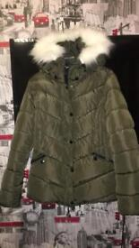 Newlook coat size 10