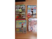 Various historical Running fitness magazines marathon news 40 magazines great condition £7