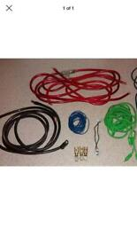 Fusion 4 awg wiring kit