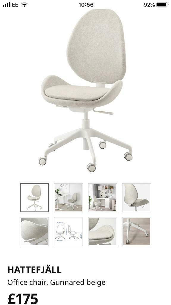 Terrific New Ikea Office Chair Hattefjall In Cambridge Cambridgeshire Gumtree Home Interior And Landscaping Analalmasignezvosmurscom