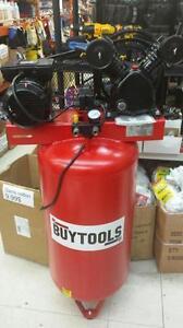 Compresseur à Air 30 gallons 7.5cfm Double pistons à courroie