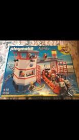 Playmobil city action harbour coastguard 5539