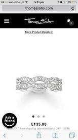 Brand new Thomas sabo ring