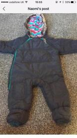 Ted Baker 3-6 months snowsuit