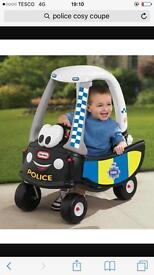 Brand new police cosy coupe