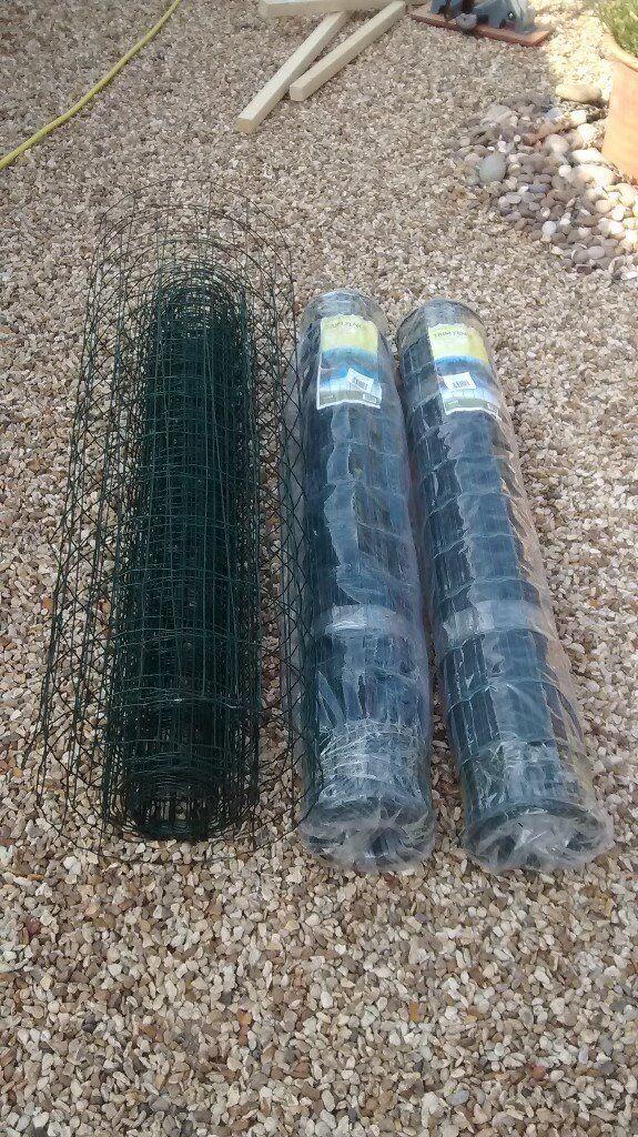 3 rolls of unused heavy duty PVC wire mesh | in Barton on Sea ...