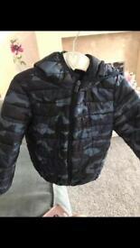 Boys coats age 4-5 Zara