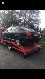 Breaking only 04 Avensis 2.0 d4d