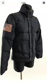 Ralph Lauren down jacket 100% genuine in the medium very warm for the winter very good condition
