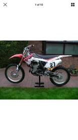 Honda Crf 450 road legal