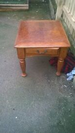 medium coffee table now £15