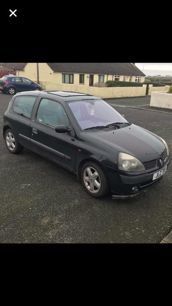 2002 Renault Clio 1 2 16v | in Belfast City Centre, Belfast | Gumtree