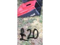Petrol lawn mower/grass box only