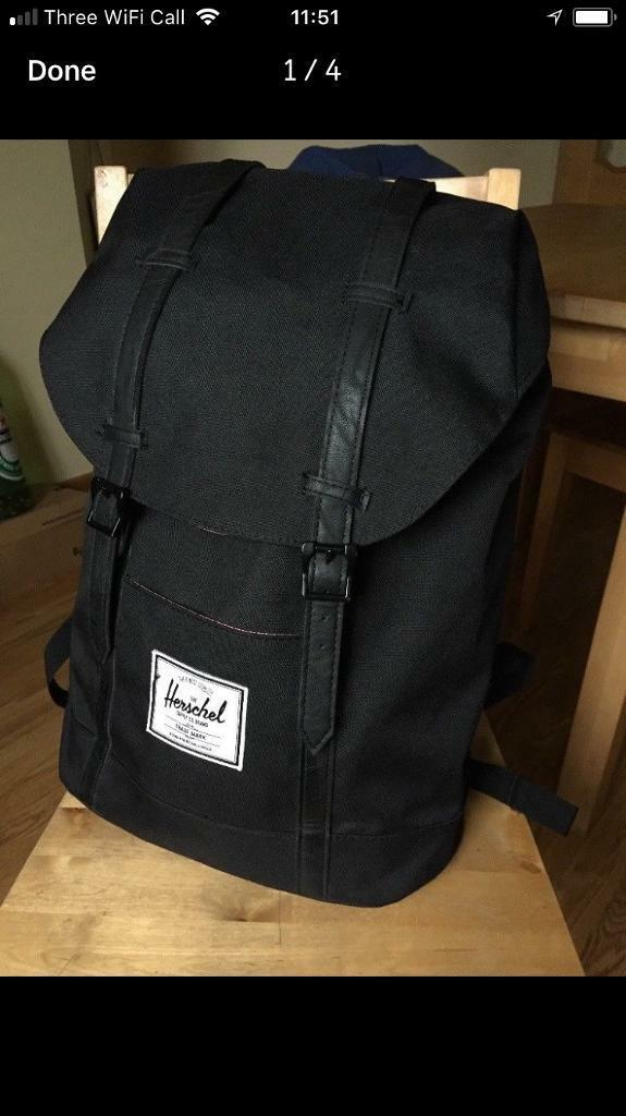 07d8cd082722 Herschel Retreat backpack black