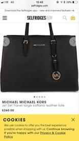Genuine - Micheal Kors - Handbag - Black - Genuine