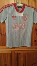 Rare Vintage Liverpool FC Shirt (Crown Paints)