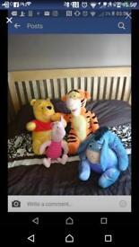 Whinnie the Pooh teddies
