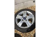 Ford Fiesta Mk6 alloys
