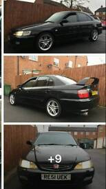 Breaking black accord type r 2.2 dohc vtec h22a7