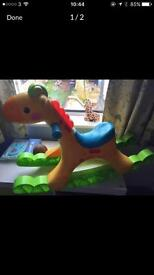 Fisher price giraffe rocker