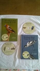 BIRD SONGS & CALLS:- 2 Books & Audio CDs