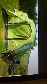 VANGO diablo 400 green tent.