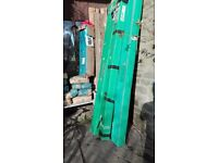 Greenhouse green housr Palram 6 x 6 frame and base. Poly panel required