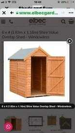 Wanted.....Shed