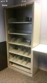 Open plan bisley filing storage cabinets on clearance @ just £45 each only!!