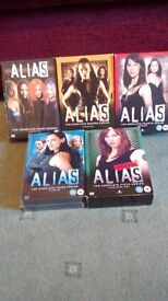Alias complete seasons 1-5