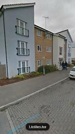 Two bedroom ground floor flat 3-4 bedroom house needed