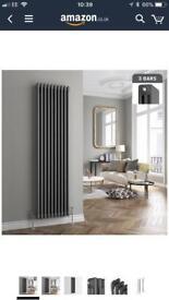 Cast iron triple column vertical radiator 1800x460mm