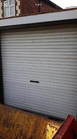 Roller garage door with all fittings
