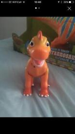 Talking Ned Brachiasaurous from Dinasaur Train- preloved but great condition