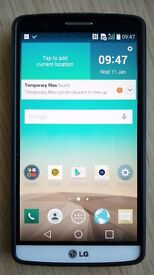 LG G3 smartphone unlocked for all networks excellent condition.