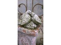 Statue Stone Love Birds