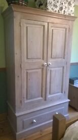 Bedroom Furniture. 6 piece Shabby Chic Pine furniture.