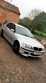 BMW 320d M Sport remapped modified stance VIP