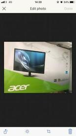 ACER S24 1HLCBI D Monitor Second Hand