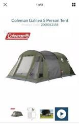Coleman's Galileo 5 man tent
