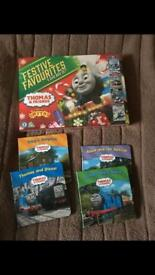 Thomas and friends Christmas DVD and books