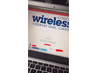 Wireless 2018 Saturday and Sunday tickets x2 (MULTI-DAY)