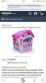 Minnie Mouse garden house
