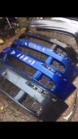 VW golf Mk5 front and rear bumper choice of colour can post