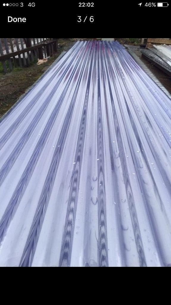 Corrugated PVC sheets