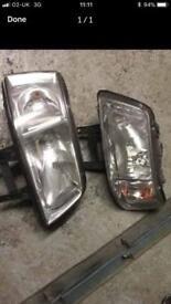 Vw Volkswagen t5 headlights