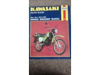 Kawasaki AE AR 50 80 AE50 AE80 AR50 AR80 Haynes Workshop Manual