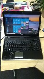 HP Entertainment Laptop, Windows 10, Dual Core, 160gb HD, Wifi, Kodi, Charger