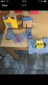 Thomas the tank engine fold up Take and Play set x2